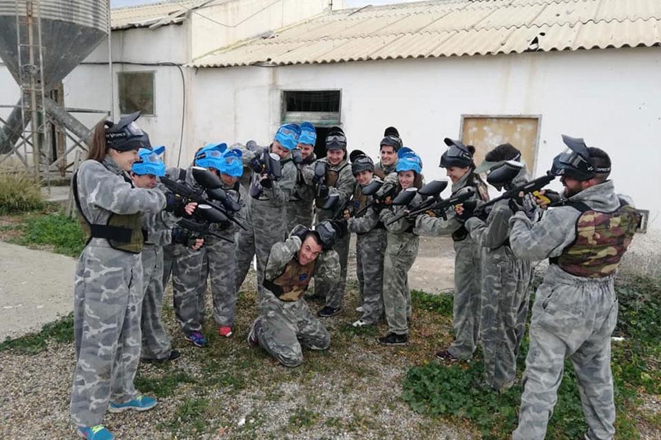 Paintball despedidas en Almería